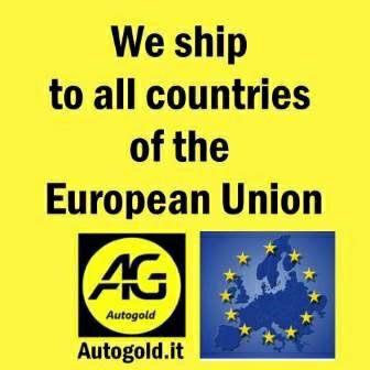 Spedizione verso l'Unione Europea