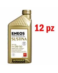 ENEOS Sustina 0W-50 (12 x 1...