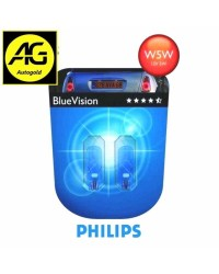W5W PHILIPS BLUEVISION...