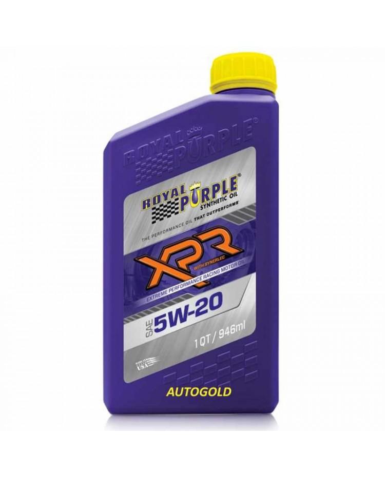 Royal Purple XPR 5W20 olio motore da competizione 5W-20