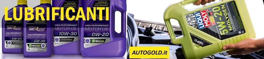 Oli di alta qualità per motore e trasmissione